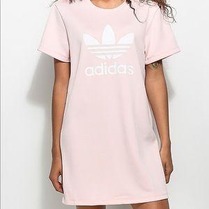 Pink Adidas dress (Small)